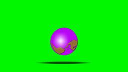 BOUNCING GLOBE Animation