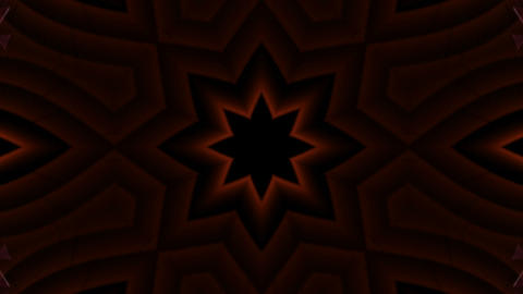 red flower pattern,spiderweb,ray and light,fiber... Stock Video Footage