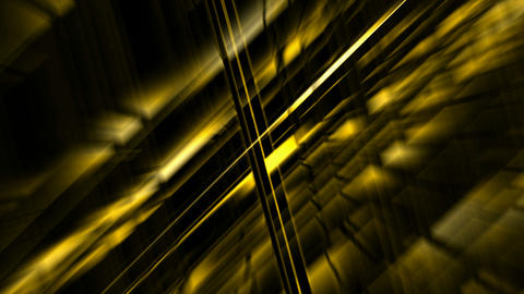 golden metal pipe Intertwined and light.science... Stock Video Footage