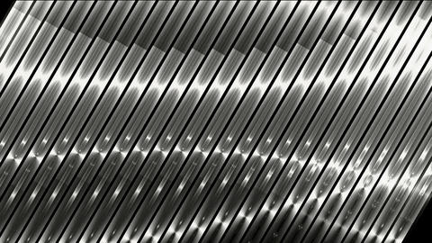 silver metal strips background,seamless loop.science... Stock Video Footage