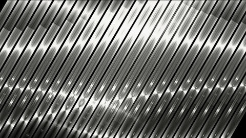 silver metal strips background,seamless loop.science... Stock Video Footage