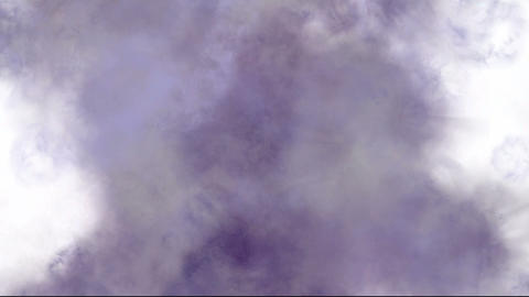 purple smoke and steam in... Stock Video Footage