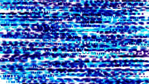 blue debris background,TV Static and stereo... Stock Video Footage