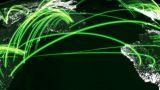 Matrix City Light stock footage