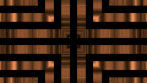 golden metal pipe,metal chain,cross steel... Stock Video Footage
