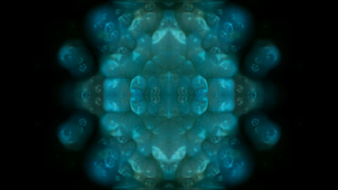 blue lotus fancy pattern,Buddhism Mandala flower,kaleidoscope,oriental religion texture.symbol,visio Animation