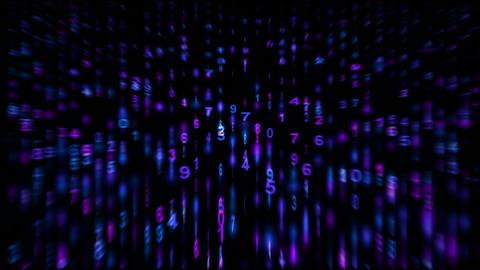 digital matrix,stock ticker,finance number... Stock Video Footage