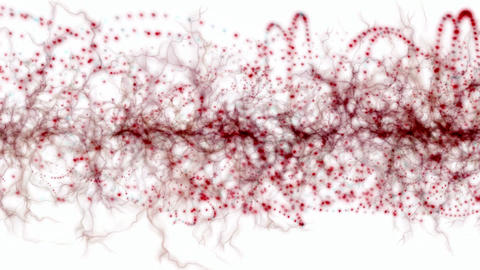 splash blood,red dance particle,chaos pulsing waves,cells... Stock Video Footage