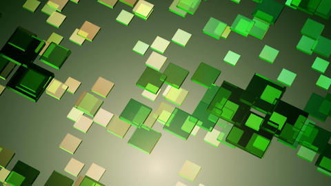 green glowing rhombus Animation