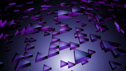 purple transparent triangle Animation