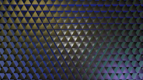 shinny purple triagonal Animation