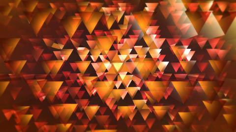 orange triagonal overlay Animation