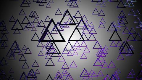 triagonal purple glossy Animation