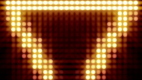 Flash Light On The Wall Background Loop stock footage