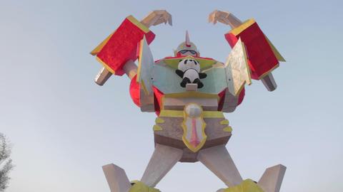 dolly shot - Transformer with panda - Taiwan lante Live影片