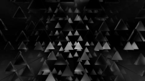 disco triangle white Animation