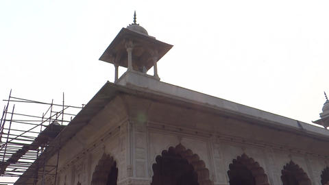 Red Fort Complex 8 stock footage