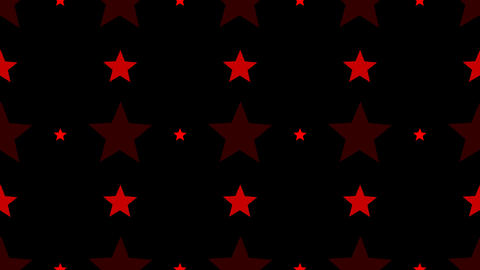 tileable red star pattern with alpha Animation