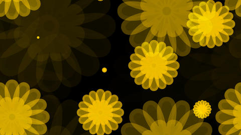 tileable yellow flower overlay with alpha Animation