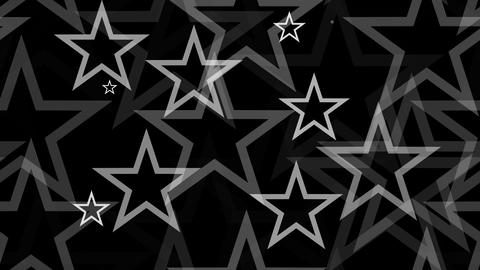 Tileable White Stars Lines With Alpha stock footage