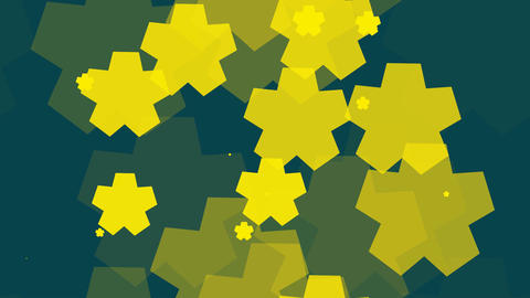tileable yellow star array Animation