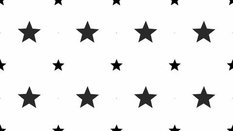 tileable fun star black Animation