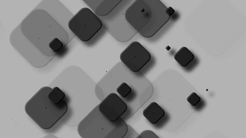tileable black rounded square Animation