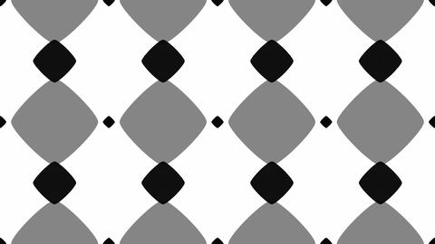 Tileable Monochrome Rounded Array stock footage