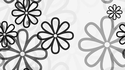 tileable soft flourist black Animation
