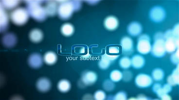 Bokeh Logo After Effects Template