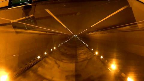 Tunnel speed upside down , Edited Footage