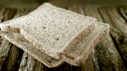 Slice Of Bread HD Stock Footage stock footage