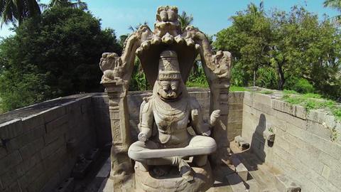 Narasimha monument Footage