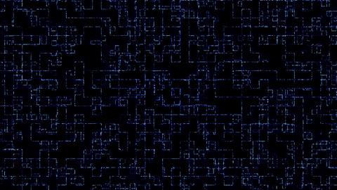 Tunnnel Loop Grid, Stock Animation