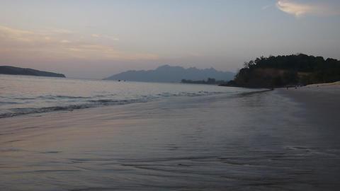 Sand beach 7 Stock Video Footage