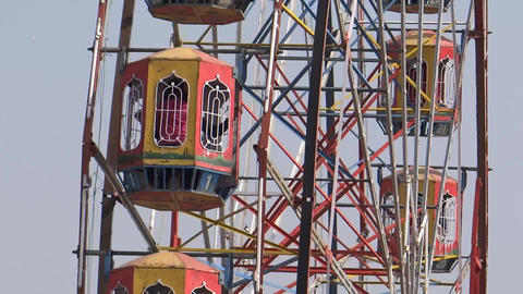 Big Swing/Giant Wheels stock footage