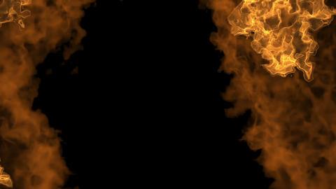 Fireball Rising 1, Stock Animation