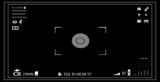 Camera viewfinder Animation