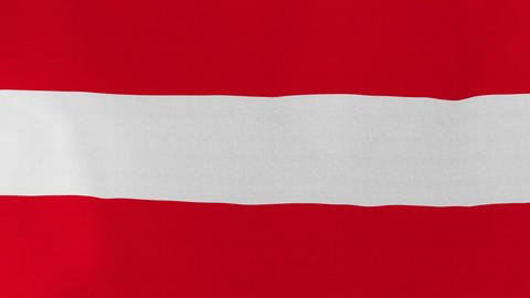 4K Loopable: Flag of Austria Footage