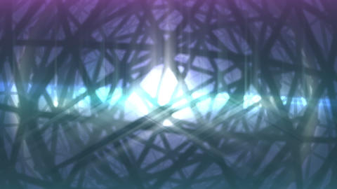 Abstract background. VJ loop. Rotation geosphere 3d object Stock Video Footage