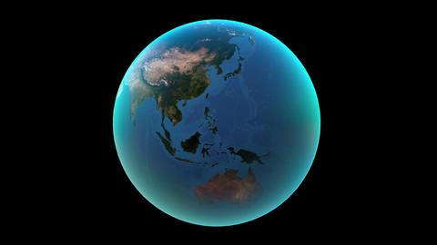 地球 CG動画