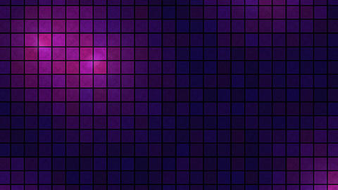 Lights Across Tiled Background - Loop Violet stock footage