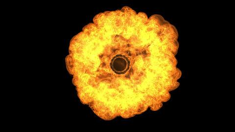Fireball Rising S5 4K UHD Slower Rising stock footage