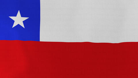 Loopable: Flag of Chile Footage