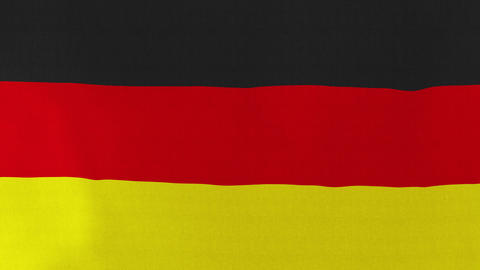Loopable: Flag of Germany Footage