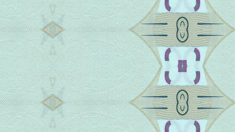 Money Pattern stock footage