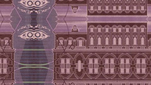 Red Bank Note stock footage