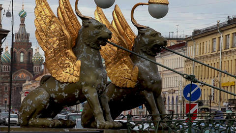 Griffins guard the St. Petersburg Footage