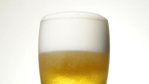 Close Up Of The Beer stock footage