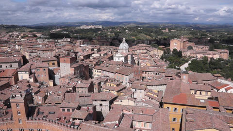 Views Of Siena Italy (1 Of 8) stock footage